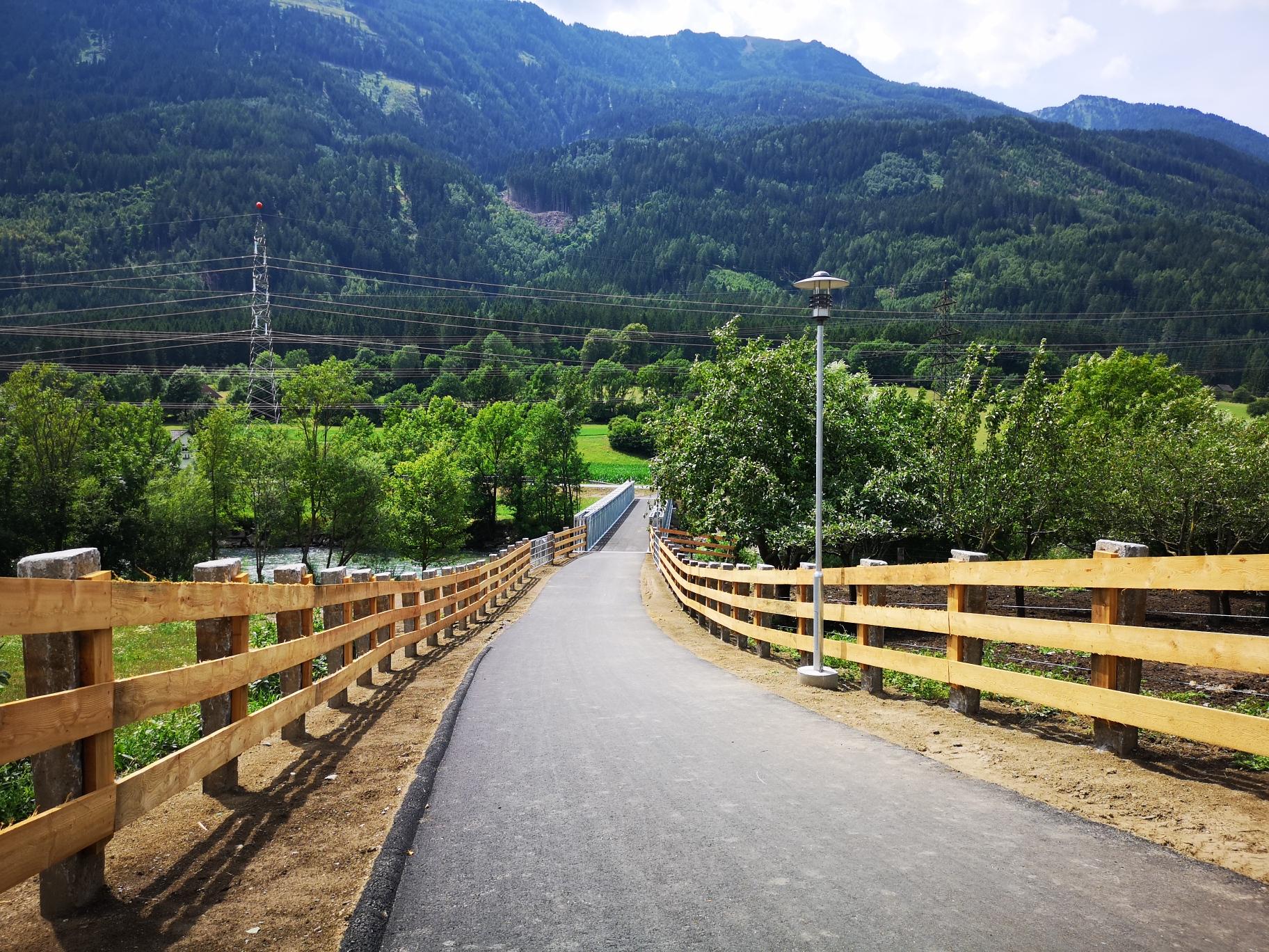 Radinfrastruktur und kommunale Entwicklung Reißeck